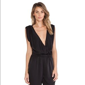 Charles Henry Black Jumpsuit XS NWT